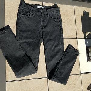 Madewell Roadtripper black skinny jeans